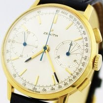 Zenith Chronograph von 1969 in 18 Karat seltenes Caliber 146D...