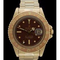 Rolex GMT-Master Ref.: 1675-8 -Vintage- 18. Karat Gelbgold...