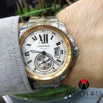 Cartier Calibre de Cartier 3389 W7100036 Steel/18k Rose Gold 42mm