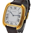 Cartier Tonneau Large Size in Yellow Gold