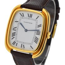 Cartier tonneau_yg_lrg Tonneau Large Size in Yellow Gold - On...