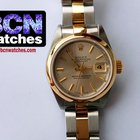 Rolex Datejust Ladies Stainless and Gold