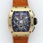 Richard Mille Rose Gold Skeleton Chronograph Ref. RM11
