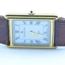 Maurice Lacroix Damen Uhr 25mm Stahl/stahl Quartz Rar Vergolde...