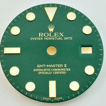 Rolex Zifferblatt GMT Green Grün 116718