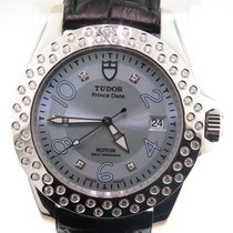 Tudor Prince Date Lady's Rotor Classic Collection Diamond...