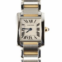 Cartier Tank Francaise Ladies Steel and Gold Watch W51007Q4...