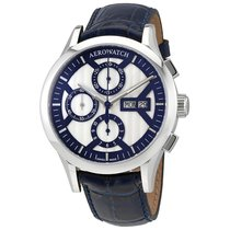 Aerowatch The Great Classics Chronograph Silver Dial Men's...