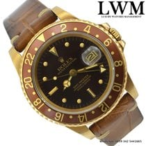 Rolex GMT Master 16758 brown Nipple dial Tiger Eye 1983's