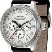 Zeno-Watch Basel NC Retro GMT Full Calendar