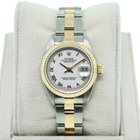 Rolex Datejust 79173 Two Tone  Roman Numeral Dial Ladies Watch