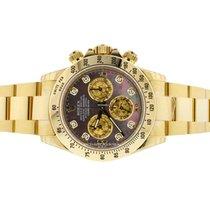 Rolex Daytona Yellow Gold 116528 DKYM