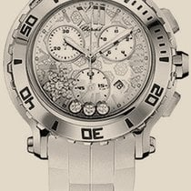 Chopard Happy Sport Round White Snowflake