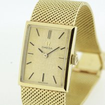 Omega Vintage Ladies Watch solid 18K Yellow Gold Cal. 620 from...