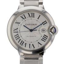 Cartier Ballon Bleu 42 mm Automatic Date Mens watch W69012Z4
