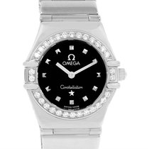 Omega Constellation My Choice Mini Ladies Diamond Watch...