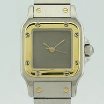 Cartier Santos Automatic Steel and 18k Gold 63-0902