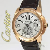Cartier Calibre 3300 18k Rose Gold Mens Watch Box/Papers W7100009