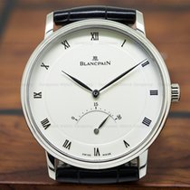 Blancpain 4063-1542-55 Villeret Retrograde Seconds 18K White...