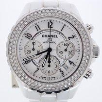 Chanel J12 White diamonds