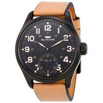 Glycine KMU 48 Black Dial Men's Hand Wound Watch