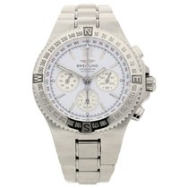 Breitling Hercules - A39363 - White Dial - 2003