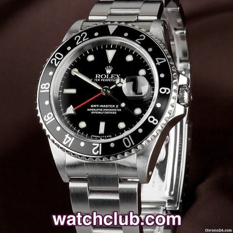 Rolex GMT-Master II Aluminium Bezel - Box & Papers