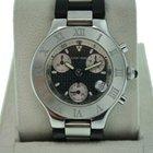 Cartier Chronoscaph 21 W10125U2 Automatic Mens Watch