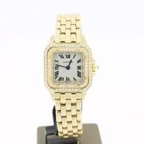 Cartier Panthere Yellow GOld 18K (BOX) 22MM Aftersetting DIAMONDS