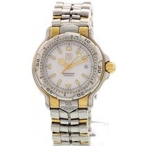 TAG Heuer Ladies TAG Heuer Professional 18K Yellow Gold and...