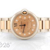 Cartier NEU -31% Ballon Bleu WE902054 Stahl Rotgold Diamanten...