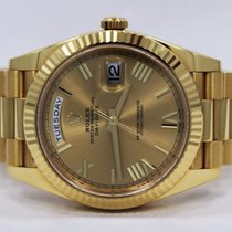 Rolex Day-Date President 40 18K Solid Yellow Gold Automatic