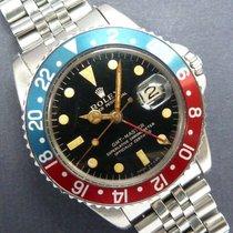 Rolex 1963 Gmt Master 1675 Pcg Gilt Dial