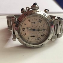 Cartier Pasha Chronograph Date 38mm Ref 1050
