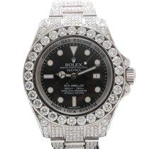 Rolex Deepsea After Set Diamonds 32.50CT, G, VS2, Pave
