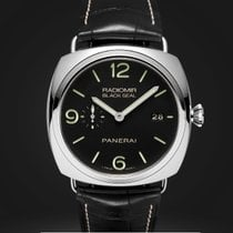 Panerai RADIOMIR BLACK SEAL 3 DAYS AUTOMATIC 45MM PAM00388 NEW