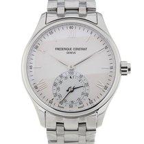 Frederique Constant Horological Smartwatch 42 Quartz Silver Dial