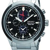 Seiko Sportura Solar Worldtime Alarmchronograph