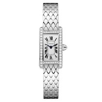 Cartier Tank Americaine Automatic Ladies Watch Ref WB710013