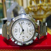 Cartier Pasha Ref. 2324 Automatic Stainless Steel 35mm White...