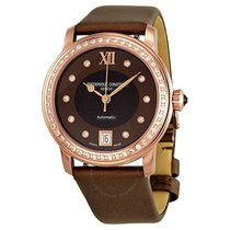 Frederique Constant Automatic Diamond Brown Mother of Pearl...