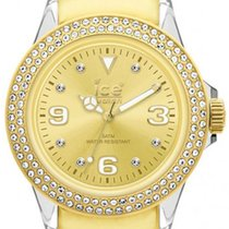 Ice Watch Stone Tycoon Swarovski Polyamide Gold Plated Unisex...