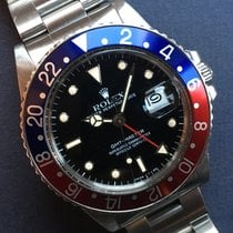 Rolex 1986 Unpolished Gmt Master 16750 Box And Punched Papers