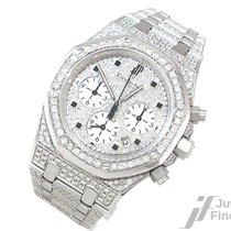 Audemars Piguet Royal Oak 750/18K Gold mit Diamanten nicht...