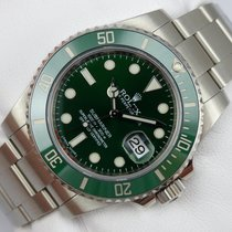 Rolex Submariner Date - Green - 116610LV - Box & Papiere -...