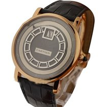 Cartier W1553751 Rotonde de Cartier Jumping Hours in Rose Gold...