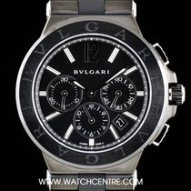 Bulgari Ceramic Unworn Diagono Chronograph Gents B&P...