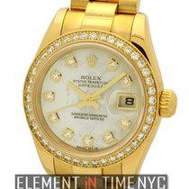 Rolex Datejust President 26mm Diamond Bezel Diamond MOP Dial...