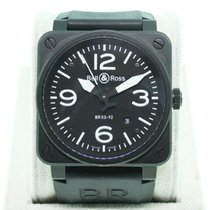 Bell & Ross Instrument BR03-92-S-02600 Black Dial
