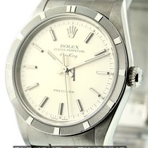 Rolex Air-King Stainless Steel Silver Dial Circa 2000 Ref. 14010M